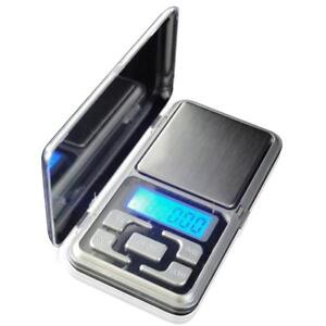 Pocket Digital Scales Jewellery Gold Weighing Mini LCD Electronic 0.1g 500g