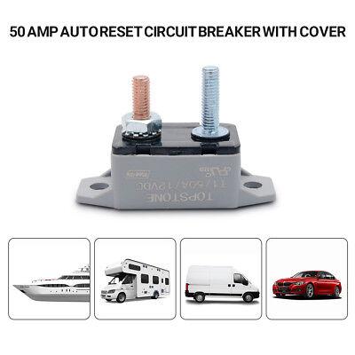 12V 50A Auto Sicherung Leistungsschalter zurücksetzen Auto Stud Typ GE ()