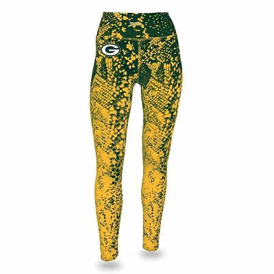 Zubaz NFL Women's Zubaz Green Bay Packers Logo - Zubaz Leggings