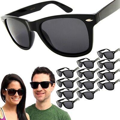 12 Pair POLARIZED Sunglasses Mens / Womens Vintage Retro Wholesale Glasses (Wholesale Vintage Sunglasses)