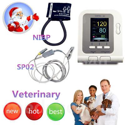 Dogcatpet Digital Veterinary Blood Pressure Monitor Nibp Softwarespo2 Probe