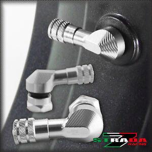 STRADA-7-83-gradi-11-3mm-CNC-MOTO-VALVOLE-SUZUKI-GSX750-GSXR750-Argento