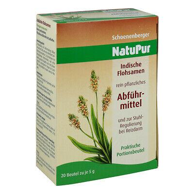 NatuPur Abführmittel zur Stuhl-Regulierung bei Reizdarm 20X5g PZN 02331161