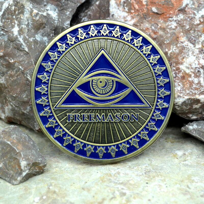 Masonic Auto Car Badge Emblems mason E44 Eye