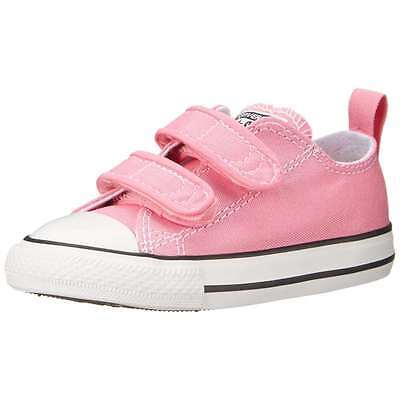 Baby Girl Shoes Pink Converse All Star Chuck Taylor CT 2V Ox 709447F NEW $36](All Girl Shoes)