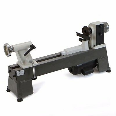 5 Speed Bench Top 12hp Power Motor 10 X 18 Mini Turning Wood Lathe Machine Mt-2