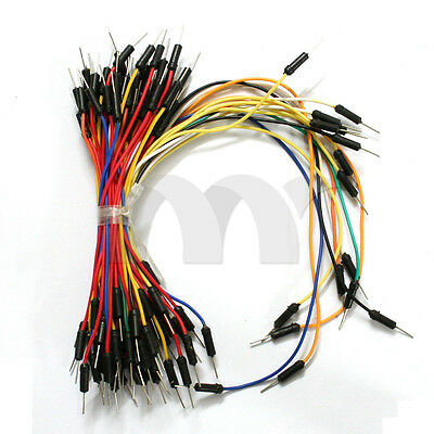 Male To Male Solderless Flexible Breadboard Jumper Cable Wires 60pcs For Arduino