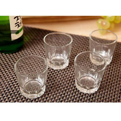 Korean SOJU Shot Glass 4P Set Korea traditional Whiskey Cup barware