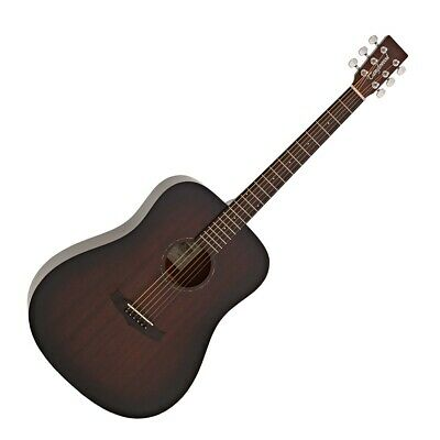 Tanglewood TWCR D Crossroads Dreadnought Acoustic Guitar , Whisky Burst