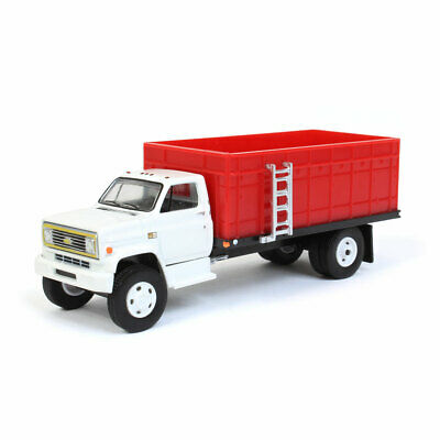 1:64 Greenlight Chevy C60 Grain Truck with White Cab 51310-C