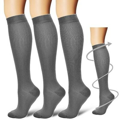 Compression Socks Women Men Running Medical 20-30 mmHG! 3 COLORS! BEST