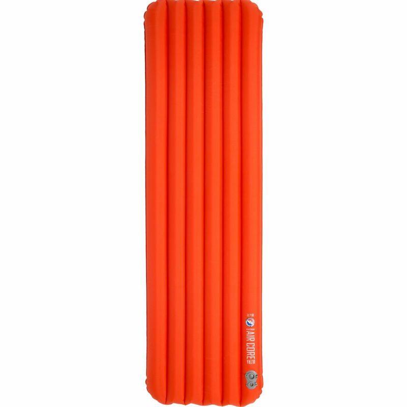 Big Agnes Insulated Air Core Ultra Sleeping Pad Orange 25x78 Wide Long