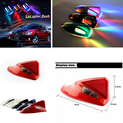 Shark fin Type Warning Lamp 6 LED Decoration Strobe Lamp flashing Anti-rear-end