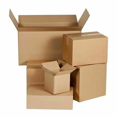 Shipping Boxes - 25 100 200 250 Pack 4x4x4 5x5x5 6x4x4 Mailing Packing Carton