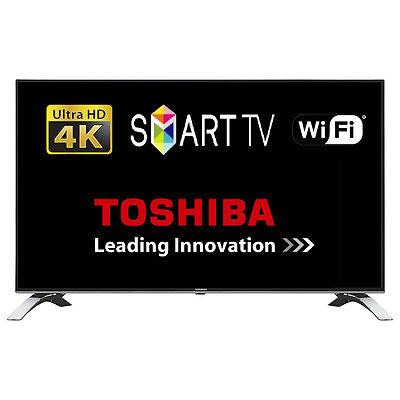 "Toshiba 43U6663DB 43"" Smart LED TV WiFi Ultra HD 4K Freeview Play Tuner HDMI"