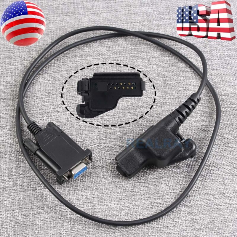 Programming Cable For Motorola XTS1500 XTS2500 XTS5000 DB-9-M5K two-way Radios