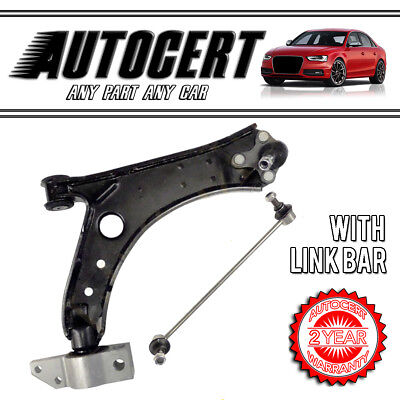 STEEL LINK BARS VW CADDY 04-15 FRONT LOWER CONTROL ARM WISHBONE LEFT /& RIGHT