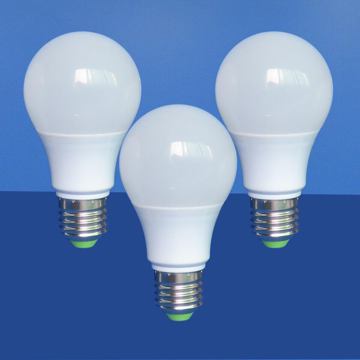 3pcs LED Light Bulb E27 A19 AC 12V/DC 12-24V 5W Globe Lights