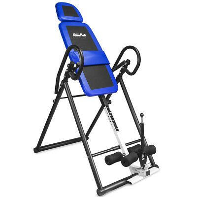 XtremepowerUS Gravity Inversion Therapy Table Fitness Back P
