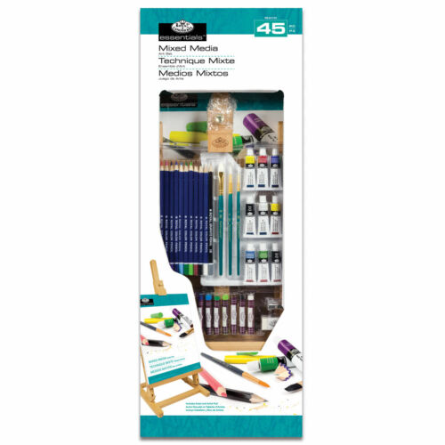 Royal & Langnickel Large Mixed Media Table Easel Set - 45 Pieces