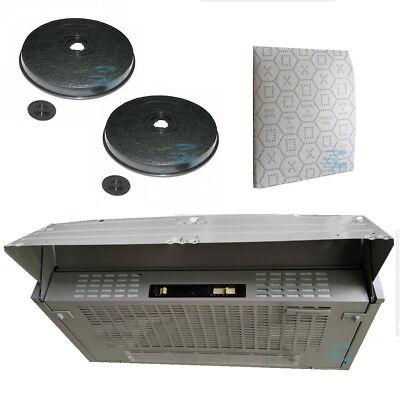 Faber cappa cucina sottopensile LG 152 60 estraibile +filtri inclusi KFAB-15260+