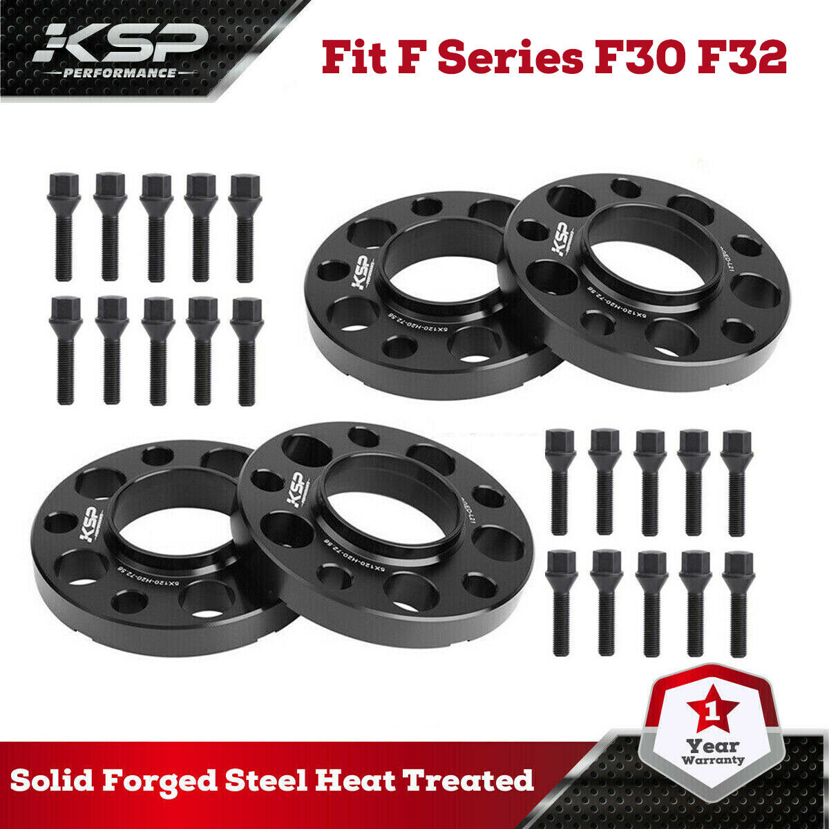 4x 12mm//15mm 5x120 Best Wheel Spacers for BMW F30 F31 F34 F80 F82 M3 M4 3 Series