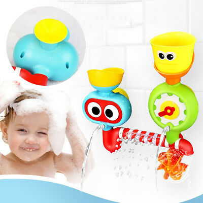 Baby Toddler Kids Bathing Swim Toy DIY Water Play Bath Toys Fun