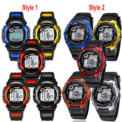 Child/Boy's/Girl's Multifunction Waterproof Sports Electronic Watches Xmas Gift ()