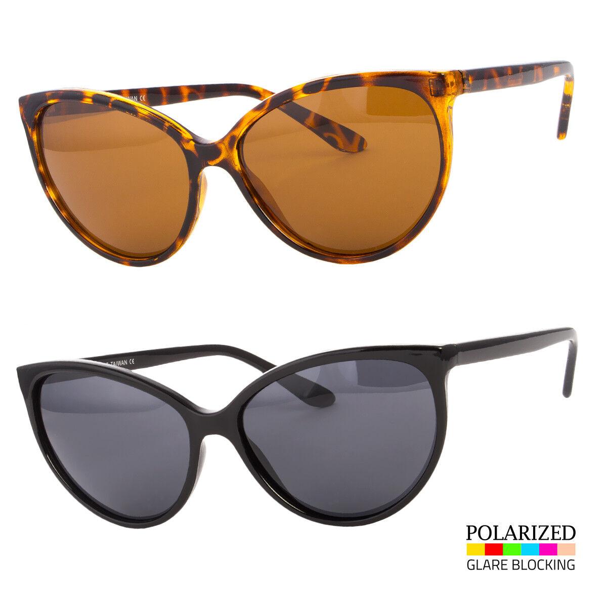 New Retro Women's Polarized Classic Cat Eye Designer Fashion Shades Sunglasses