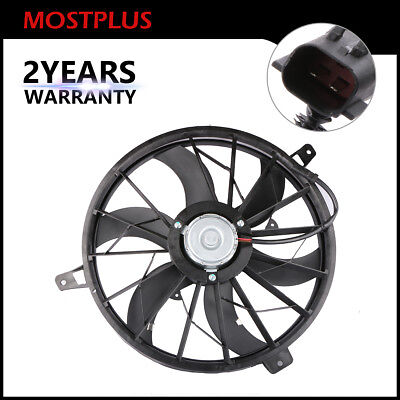 Front Radiator Cooling Fan Assembly Replace For Jeep Grand Cherokee 4.0L 4.7L Jeep Grand Cherokee Cooling System