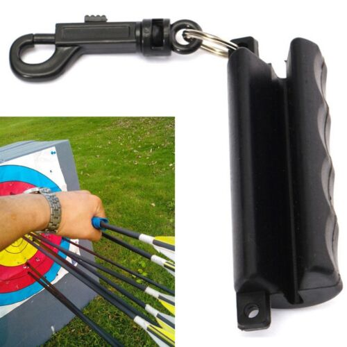 1x Puller Arrow Clamp Silica Gel Remover Target 3D Archery bow 3x8.5cm
