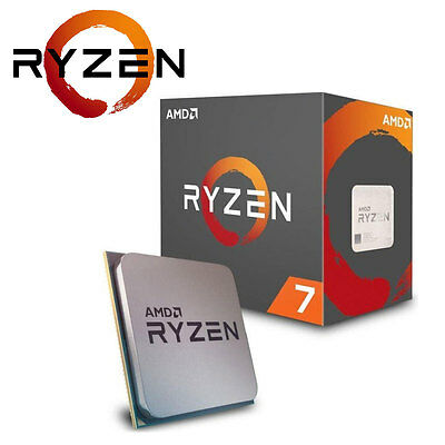 "CPU AMD Ryzen 7 1800X 8x 3.6GHz ""Summit Ridge"" Sockel AM4 boxed"