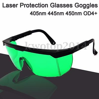 405nm 445nm 450nm Blue 808NM 980NM IR Laser Eye Protection Glasses Goggles OD4+
