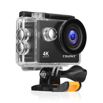 Action Camera 4K 2 Inch LCD WiFi Ultra HD IP68 Waterproof Sport Camera Swimming