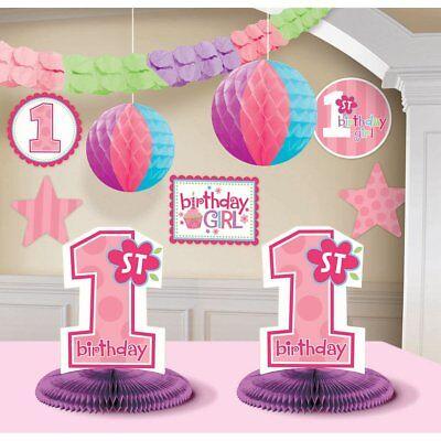 1st Birthday Girl Decorating Kit Party (1st Birthday Girl Decorating Kit Party Supplies)