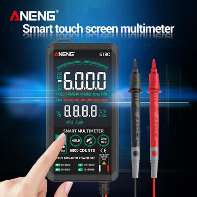 Digital Multimeter Acdc Voltage Tester Capacitance Frequency Continuity V1y7