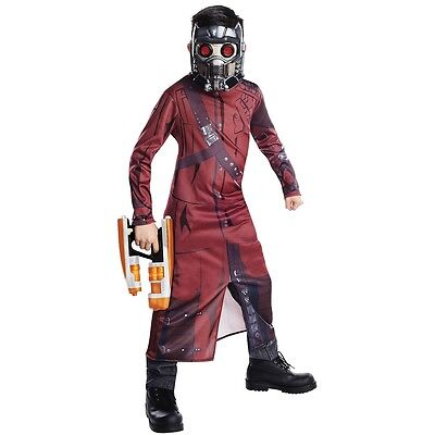Star-Lord Costume Kids Guardians of The Galaxy Halloween Fancy Dress - Star Lord Costume