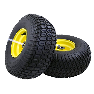 """2-PACK 15x6.00-6"""" Front Tire Assembly Replacement for 100 an"""