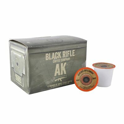 Black Rifle Coffee Company Ak 47 Coffee Rounds For Single Serve Brewing Machines
