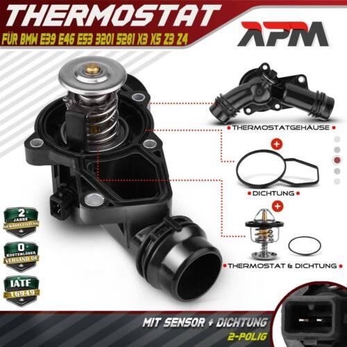 Thermostat Kühlmittelthermostat für BMW 3 X3 E46 E83