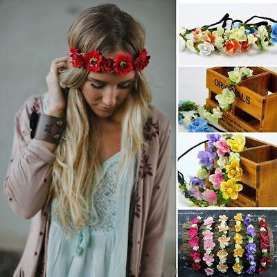 Haarband ELEGANCE Blumen Blume Blumenkranz Stirnband Haarschmuck Blüte Haarblume