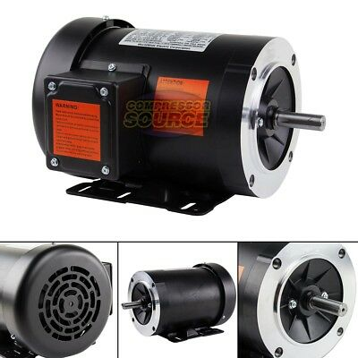 12 Hp Electric Motor 3 Phase 56c Frame 1800 Rpm Tefc 208 230 460 Volt New