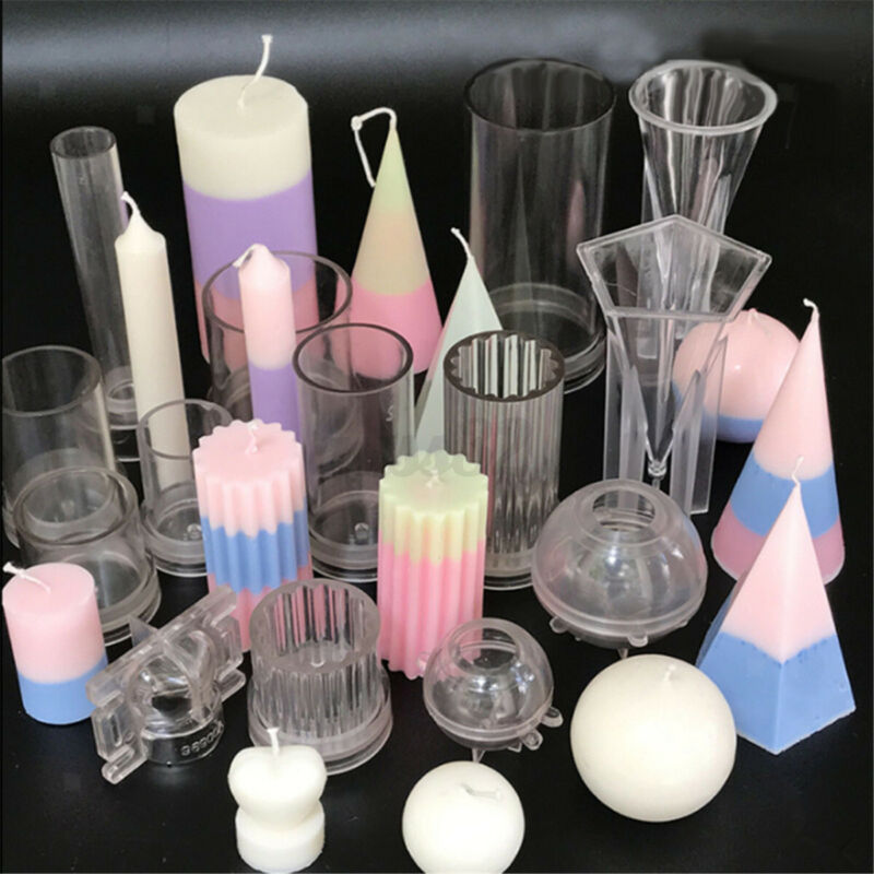 DIY Candle Molds Candle Making Mould Handmade Soap Molds Clay Craft Tools K