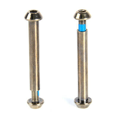 STUNT SCOOTER SMOOTH AXLE BOLT REPLACEMENT WHEEL FORKS & PEGS -
