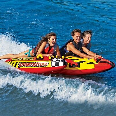 Sportsstuff Master Blaster Towable Inflatable Water Tube 3 Person Rider 53-1831