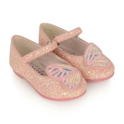 Sophia Webster Mini NEW NIB 33 (US2) Butterfly Ballerina Shoes Flats DGR1-1