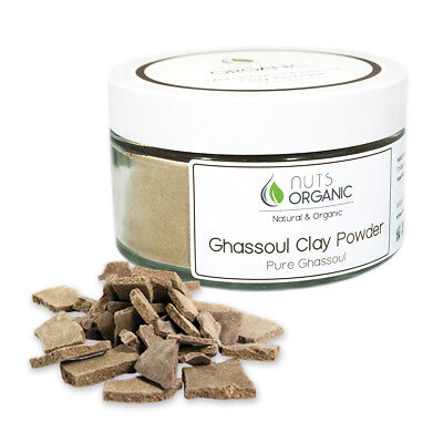 Moroccan natural ghassoul lava clay powder, for face & hair - organic...