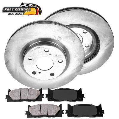 Front Brake Disc Rotors Ceramic Pads For Lexus ES300H ES350 Toyota Camry - Lexus Es300 Front Brake