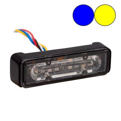 LED-MARTIN® DOUBLE COLOR EVO2 Frontblitzer - blau-gelb - Straßenräumer - Schwert