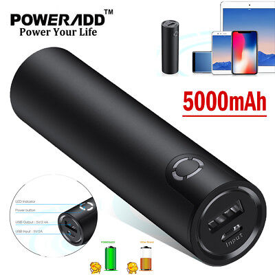 5000mAh Pocket Slim External Battery Portable Charger Power Bank For Cell Phone